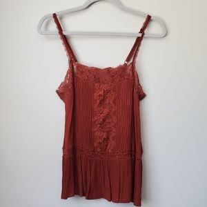 American Eagle lace cami size small like new